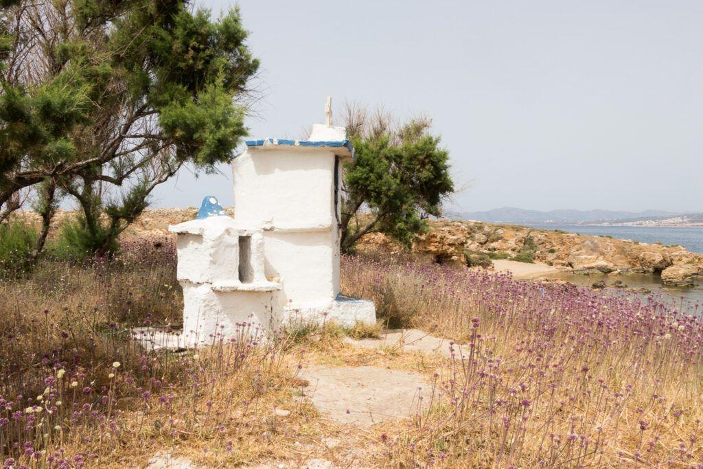 Kapliczka na wyspie