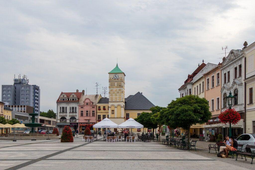 Rynek w Karwinie