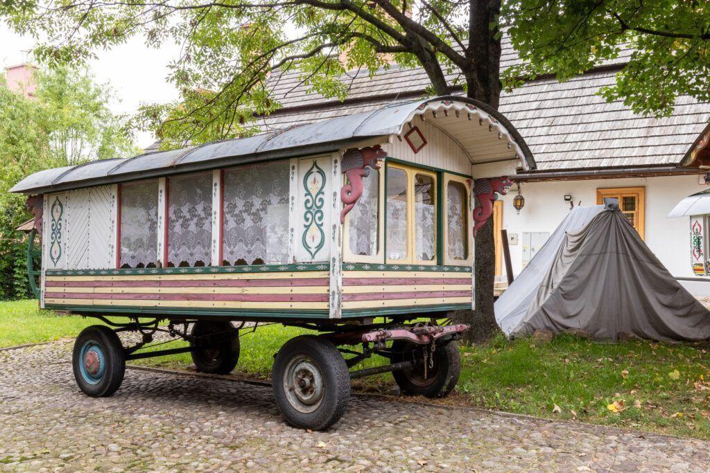 Atrakcje Tarnowa. Wóz cygański