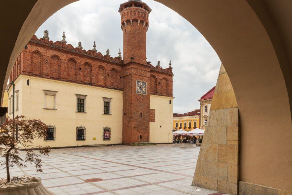 Atrakcje Tarnowa. Ratusz i Rynek