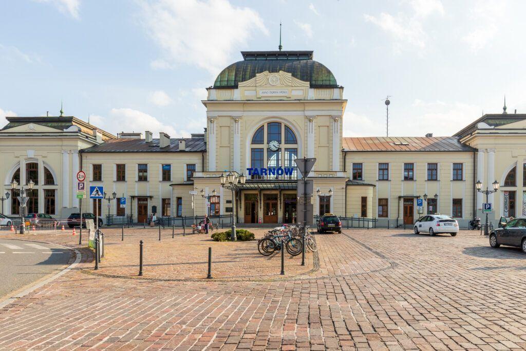 Atrakcje Tarnowa. Dworzec